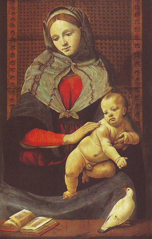 The Virgin And Child With A Dove | Piero Di Cosimo | oil painting