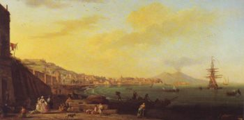 View Of The Convent Of The Ara Coeli | Pierre De Valenciennes | oil painting