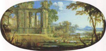 Fantastic Landscape With Ruins | Pierre Patel The Elder | oil painting