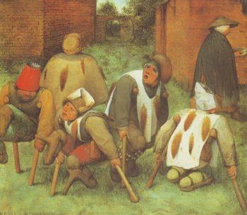 The Beggars | Pieter Bruegel The Elder | oil painting