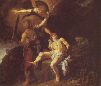 The Sacrifice Of Abraham | Pieter Lastman | oil painting