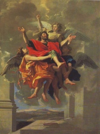 Ecstasy Of St Paul | Poussin | oil painting
