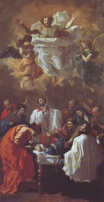 The Miracle Of St Francis Xavier | Poussin | oil painting