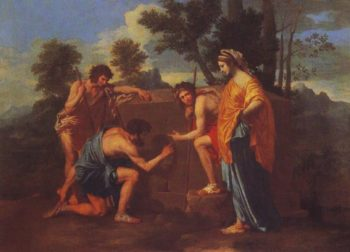 The Shepherds Of Arcadia | Poussin | oil painting