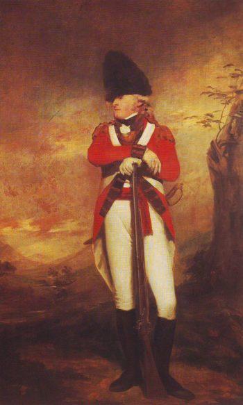 Captain Hay Of Apott   Raeburn   oil painting