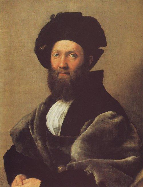 Baldassare Castiglione   Rafaello Sanzio   oil painting