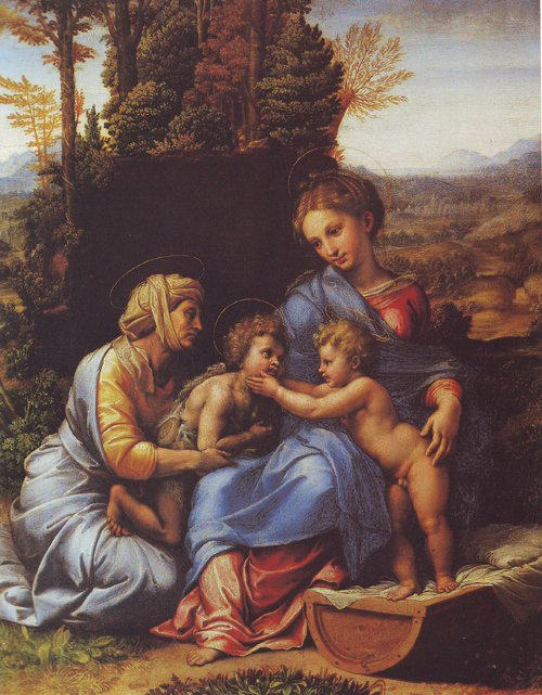 The Holy Family | Raphael | oil painting