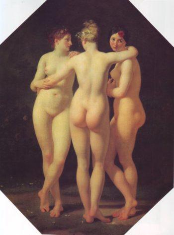The Trhree Graces | Regnault | oil painting