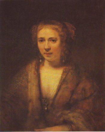 Hendrickje Stoffels | Rembrandt Harmensz Van Rijn | oil painting