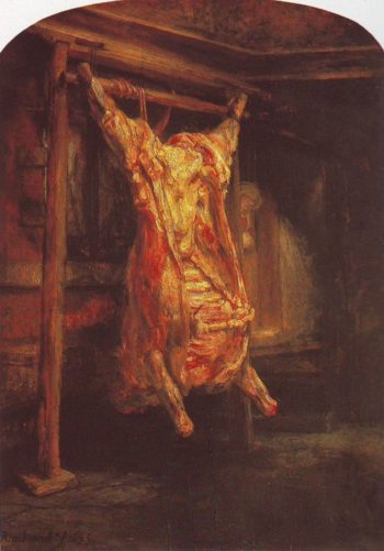 The Carcass Of Beef | Rembrandt | oil painting