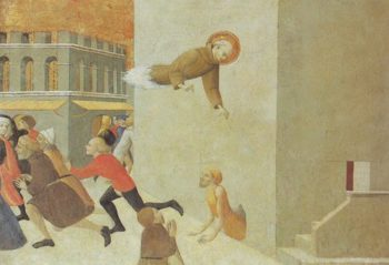 The Blessed Ranieri Rasini Freeing The Poor From A Prison In Florence | Sassetta | oil painting