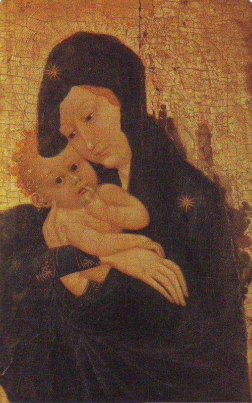 Vrigin And Child | School Of Dijon | oil painting