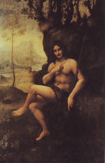 Bacchus | Studio Of Leonardo Da Vinci | oil painting