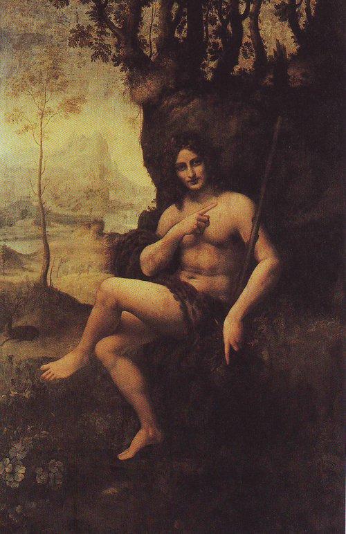 Bacchus | Studio Of Leonardo Da Vinci | oil painting