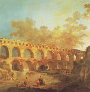 The Pont Du Gard | Unknown Artist | oil painting