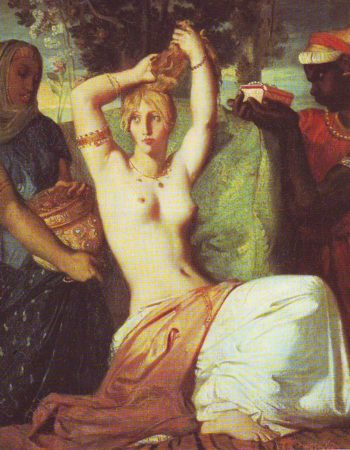 The Toilet Of Esther | Theodore Chasseriau | oil painting