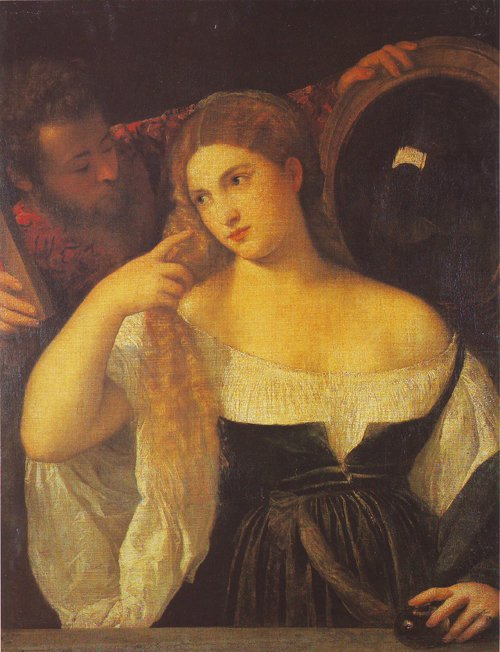 A Woman At Her Toilet | Titian | oil painting