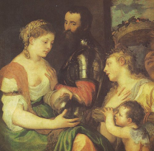 AN ALLEGORY | Titian | oil painting