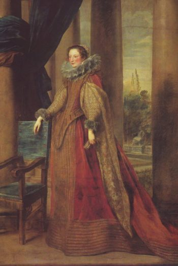 Presumed Portrait Of The Marchesa Geromina Spinola-Doria Of Genoa | Van Dyck | oil painting