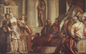 Esther Before Ahasuerus | Veronese | oil painting
