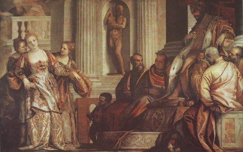 Esther Before Ahasuerus | Veronese | oil painting
