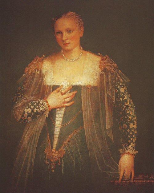 La Belle Nani   Veronese   oil painting