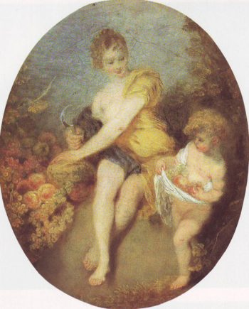 Autumn | Watteau | oil painting