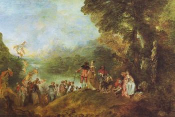 The Embarkation For Cythera | Watteau | oil painting