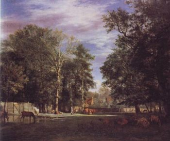 The Farm | Adriaen Van De Velde | oil painting