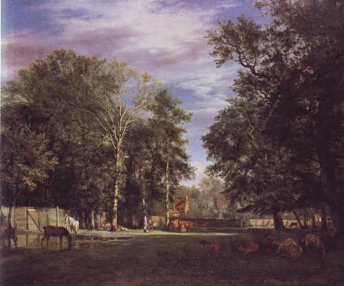 The Farm | Adriaen Van De Velde | oil painting