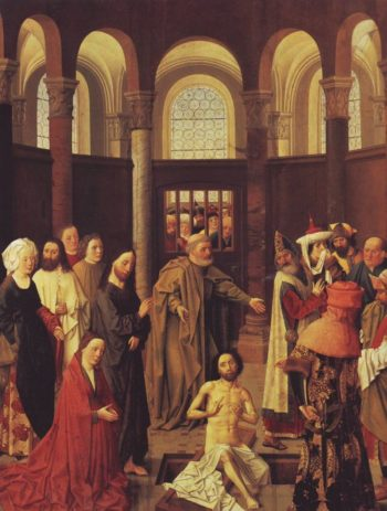 The Raising Of Lazarus | Aelbert Van Ouwater | oil painting