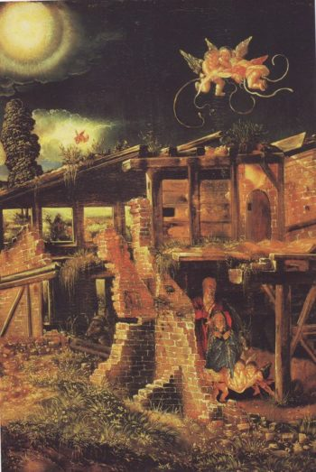 The Nativity | Albrecht Altdorfer | oil painting