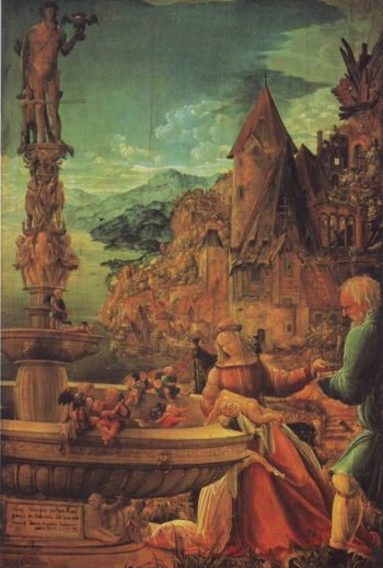 The Rest On The Flight Into Egypt | Albrecht Altdorfer | oil painting
