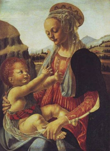 Madonna And Child | Andrea Verrocchio | oil painting