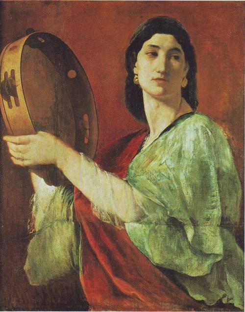 Miriam | Anselm Feuerbach | oil painting