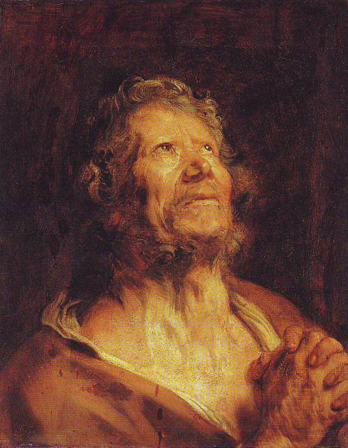 An Apostle With Folded Hands | Anthony Van Dyck | oil painting
