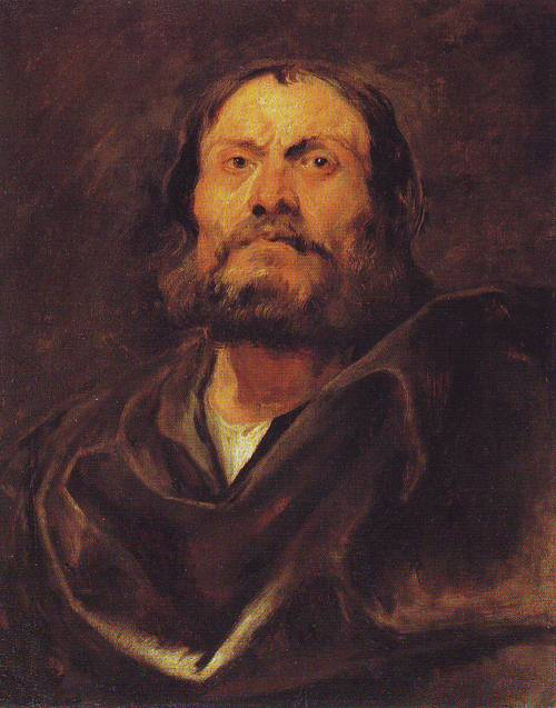 An Apostle   Anthony Van Dyck   oil painting