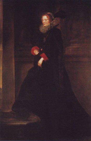 Marchesa Geronima Spinola | Anthony Van Dyck | oil painting