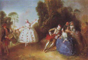 Marianne Cochois | Antoine Pesne | oil painting
