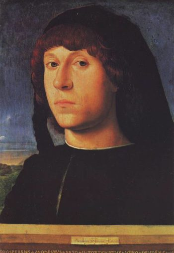 A Young Man | Antonello Da Messina | oil painting