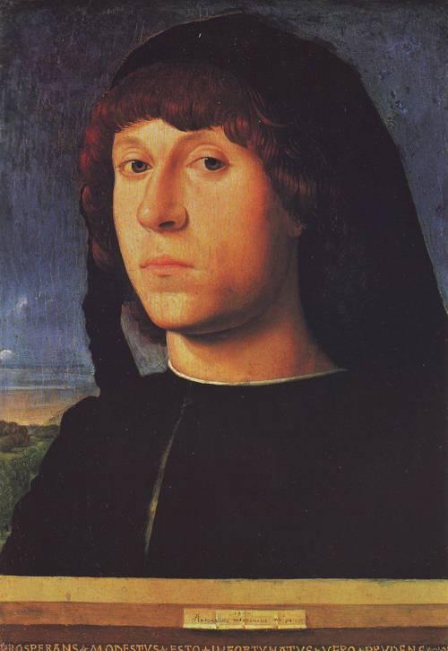 A Young Man | Antonello Da Messina | oil painting