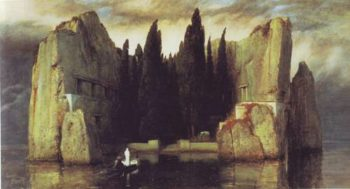 The Isle Of The Dead | Arnold Bocklin | oil painting