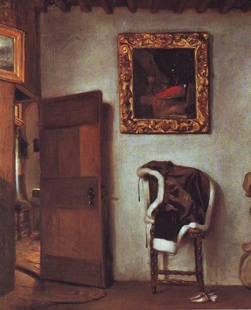 Dutch Interior | Attributed To Hendrick Van Der Burch | oil painting