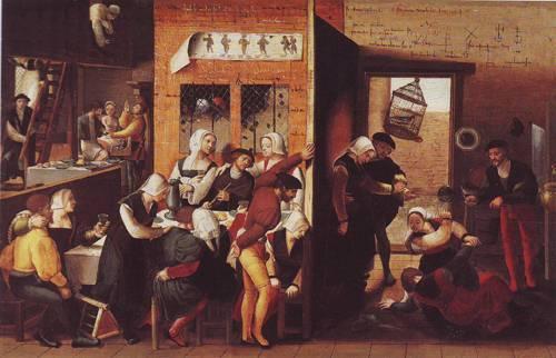 The Prodigal Son | Attributed To Jan Sanders Van Hemessen | oil painting