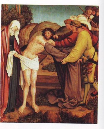 The Disrobing Of Christ | Bernhard Strigel | oil painting
