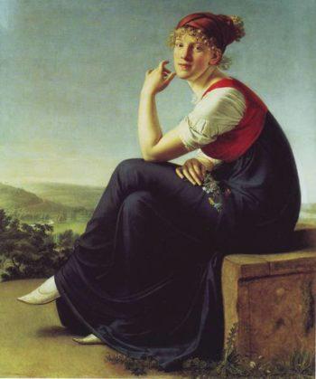 Heinrike Dannecker | Christian Gottlieb Schick | oil painting