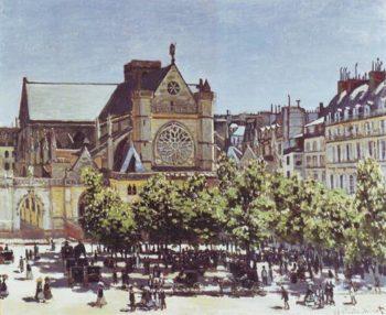 Saint Germain L'auxerrois | Claude Monet | oil painting