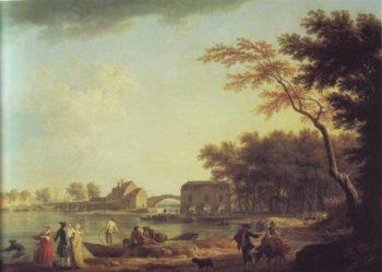 Nogent Sur Seine | Claude-Joseph Vernet | oil painting