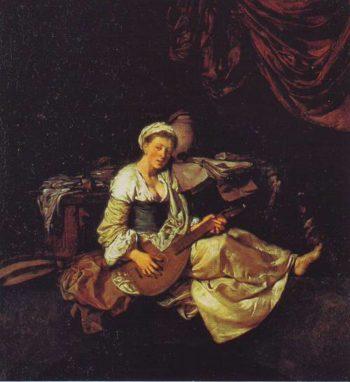 Lutanist | Cornelis Bega | oil painting