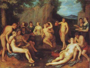 Temperance | Cornelis Cornelisz Van Haarlem | oil painting